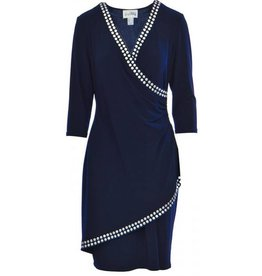 Joseph Ribkoff Joseph Ribkoff Ladies Dress, Navy, 10