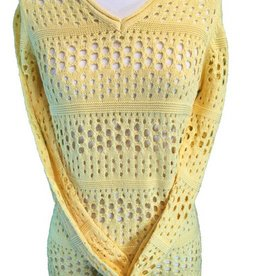 FDJ V-NEck Long Sleeve Sweater