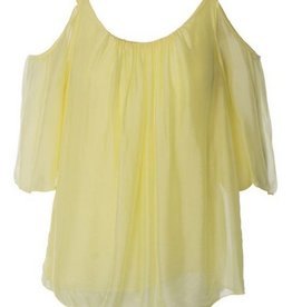 Made In Italy Woven Short Sleeve Top 10/61418I