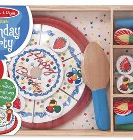 Melissa & Doug Play Food- Birthday Party