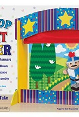 Melissa & Doug TABLETOP PUPPET THEATRE