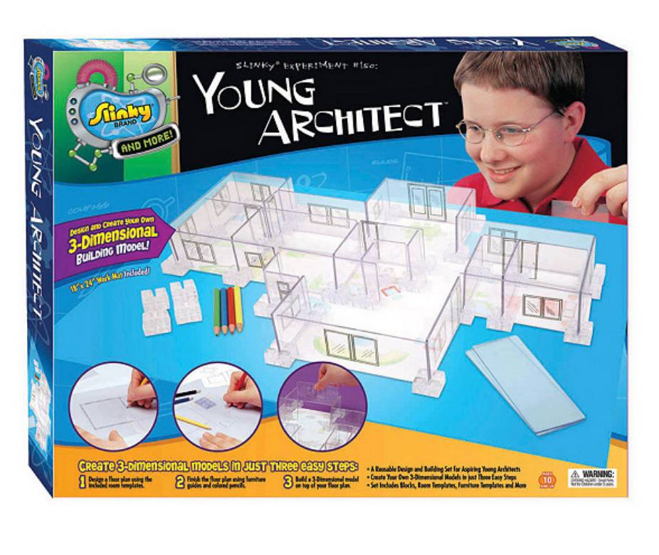 SCIENTIFIC EXPLORER YOUNG ARCHITECT