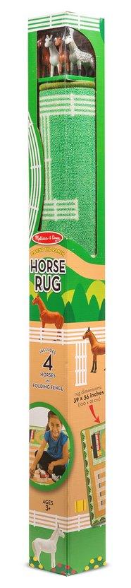 Melissa & Doug ROUND THE RANCH HORSE RUG