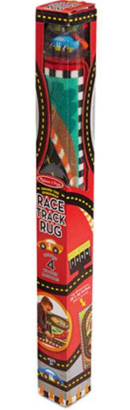Melissa & Doug ROUND THE SPEEDWAY RACE TRACK RUG