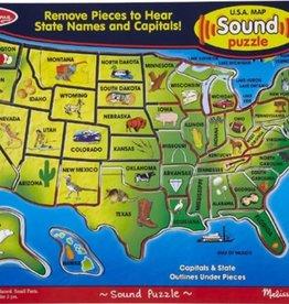 Melissa & Doug Sound Puzzle-USA Map