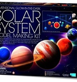 Toysmith 3D GLOW SOLAR SYSTEM MODEL KIT