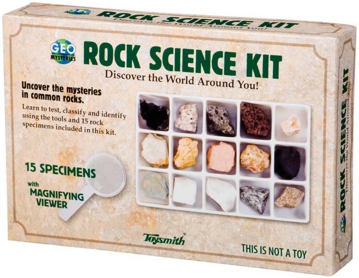 Toysmith Rock Science Kit
