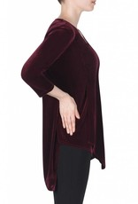 Joseph Ribkoff Ladies Tunic, Burgundy
