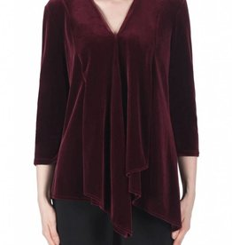 Joseph Ribkoff Ladies Tunic, Burgundy 183454