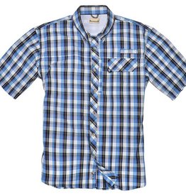 Backpacker Sport Utility Shirt, Teal Plaid