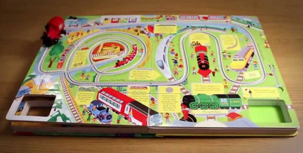Wind-Up Train Book