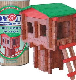 Roy Toy Manufacturing Tree House Canister