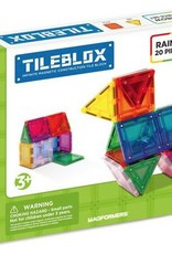 Magformers Tileblox Rainbow 20pc