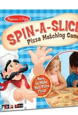 Melissa & Doug SPIN-A-SLICE PIZZA MATCHING GAME