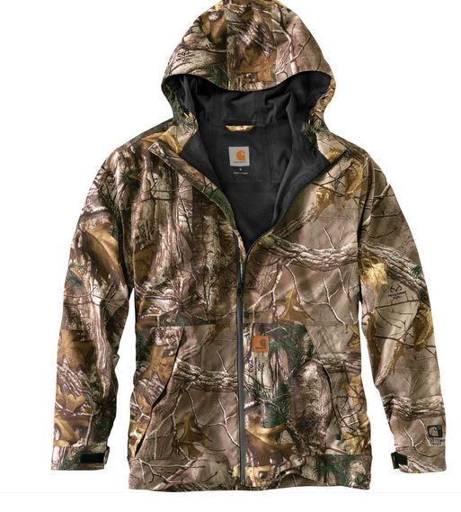 Carhartt Camo Equator Jacket, Realtree 101566