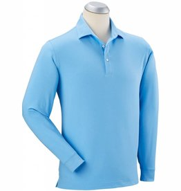 Bobby Jones L/S Solid Liquid Cotton