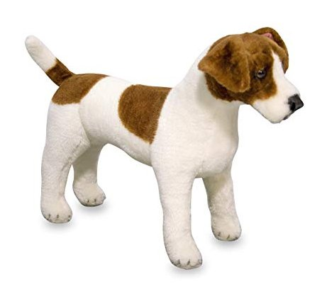 Melissa & Doug Jack Russell Terrier Plush
