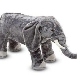 Melissa & Doug Lifelike Plush- Elephant