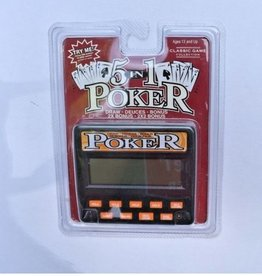 Hansen Classic 5-In-1 Poker 77701