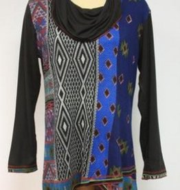 Parsley & Sage Southwest Print Tunic