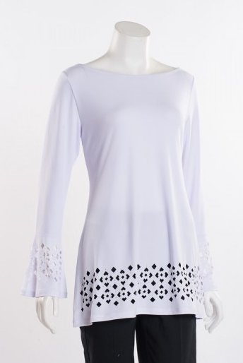 L/S Cut-Out Blouse