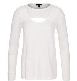 TRIBAL L/S Peek-A-Boo Sweater