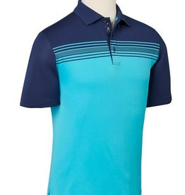 Bobby Jones XH2O Color Blocked Luna Chest Stripe