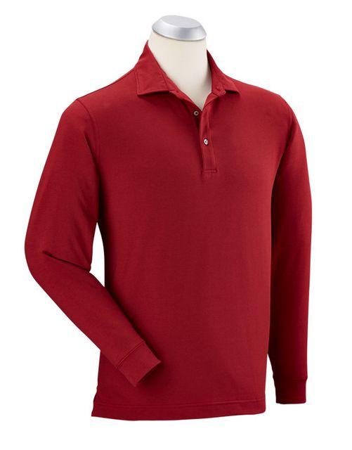 Bobby Jones L/S Solid Liquid Cotton Shirt