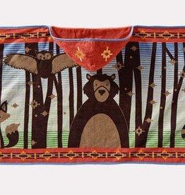 Pendleton Printed Hooded Baby Towel