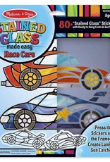 Melissa & Doug STAINED GLASS RACE CARS