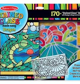 Melissa & Doug Stained Glass - Dragon