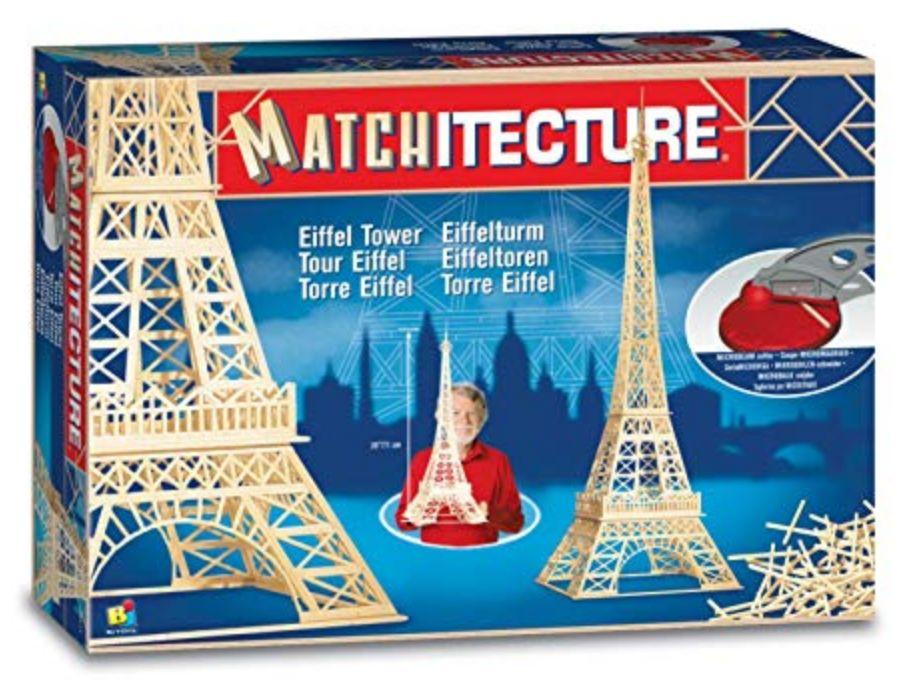 Matchitecture: Eiffel Tower, (1150pcs)