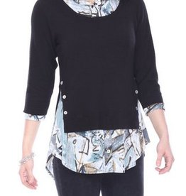 Parsley & Sage Remi Layered Tunic, 18W207T17