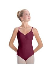 MotionWear 2572-Pinch front 6 strap back cami leotard
