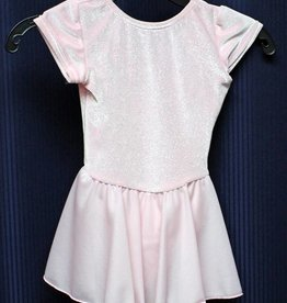MotionWear 4354-Dance Dress-PINK SPARKLE-XSC