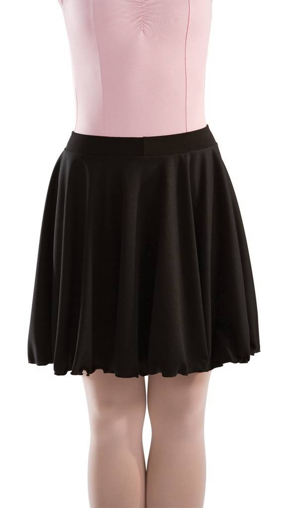MotionWear 1363-Character Skirt Child-BLACK-MC
