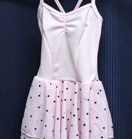 MotionWear 5686-Dance Dress LOVE A LOT-PINK-SMALL CHILD