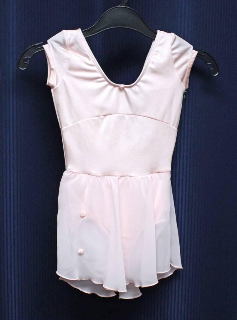 Bloch CL3432-Dance Dress-PINK-6X7 CHILD