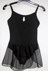 MDAC 727032-Dance Dress-BLACK-8-10 CHILD