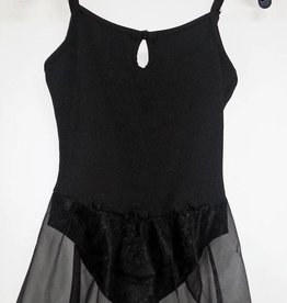 MDAC 727032-Dance Dress-BLACK-8-10 CHILD