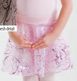 MotionWear 1011-130-Pull-On Skirt-BlacK-SMALL CHILD