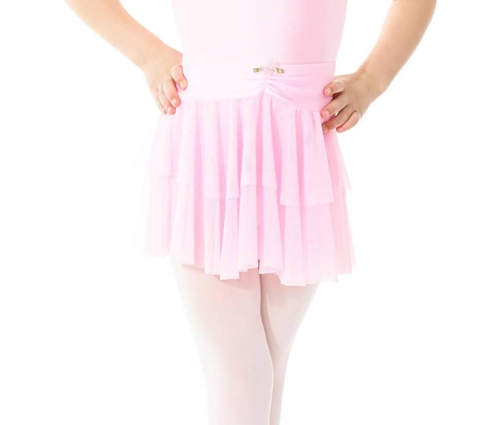 Mondor 6145-Skirt-CHERRY PINK-8-10