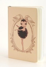B Plus 304BP01-Ballet Paper Notebook ,3''x 5-ODILE