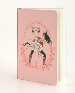 B Plus 304BP02-Ballet Paper Notebook ,3''x 5-CATS