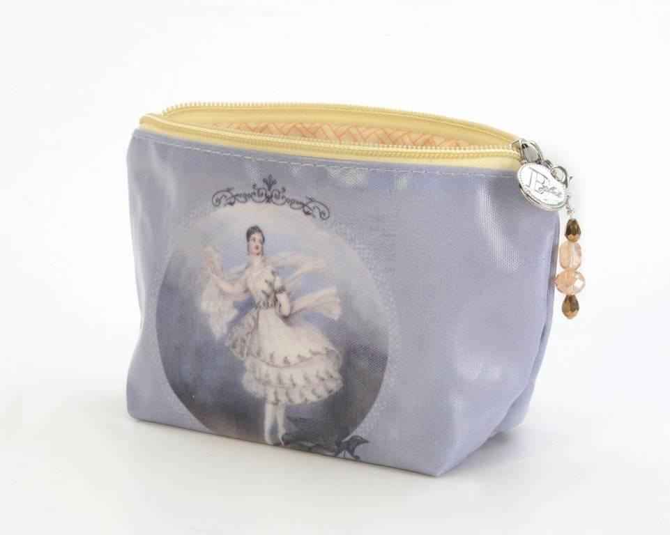 B Plus 453VIN01-Vintage Marie Taglioni Small Cosmetic bags 7''x 4''x 2 1/4''-Letter