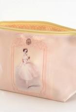 B Plus 453VIN02-Vintage Marie Taglioni Small Cosmetic bags 7''x 4''x 2 1/4''-Love bird