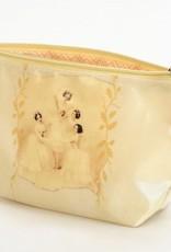 B Plus 453VIN04-Vintage Marie Taglioni Small Cosmetic bags 7''x 4''x 2 1/4''-Pas de Quatre