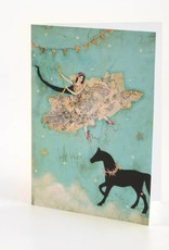 B Plus 202VV03-Vanessa Valencia Cards Embossing 5''x 7''-Theater of dream