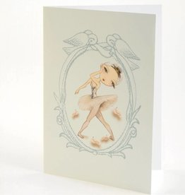 B Plus 204BP04-Ballet Paper Blank Cards 5''x 7''-Queen of the wilis