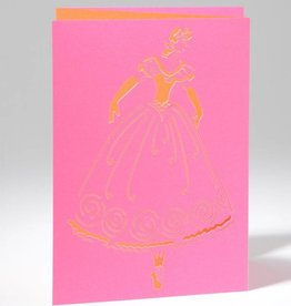 B Plus 201CO01-Caroline Ochoa Laser Cut Blank Card 41/2''x 61/4''-Releve